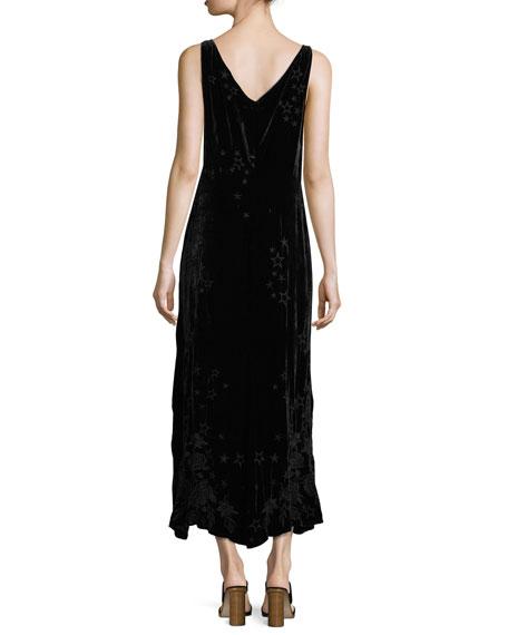 Roberta Velvet Maxi Dress, Plus Size
