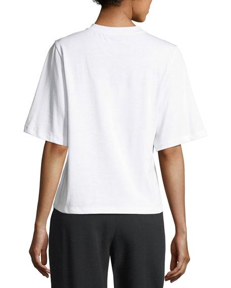 Pierced Short-Sleeve T-Shirt