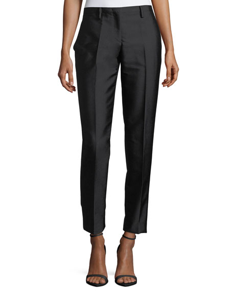 No. 21 Mid-Rise Skinny Crepe Pants and Matching