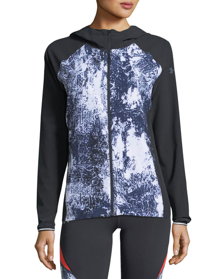 Outrun The Storm Printed Performance Jacket