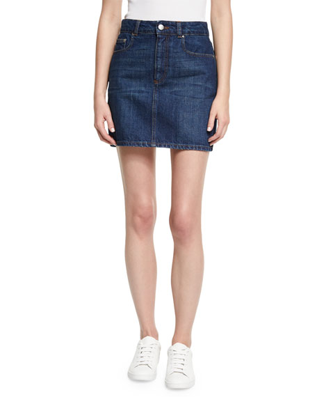 Alexa Chung Tokyo Denim Mini Pencil Skirt