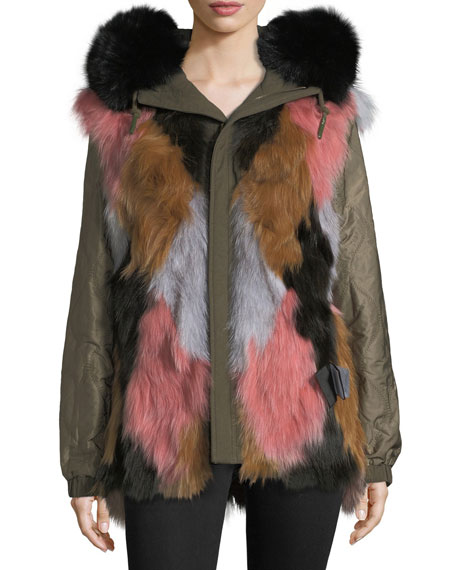 Moose Knuckles St. Fabien Reversible Anorak Jacket w/