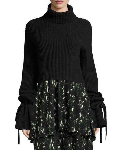 A.L.C. Emille Long-Sleeve Turtleneck Sweater