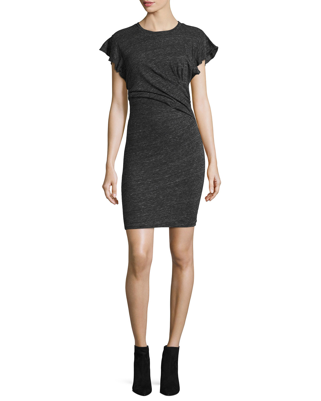 ladybug buttons flared dress - Black Gucci FDPVWU