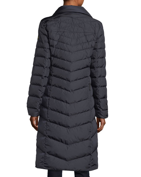 Dunja Long Quilted Puffer Jacket