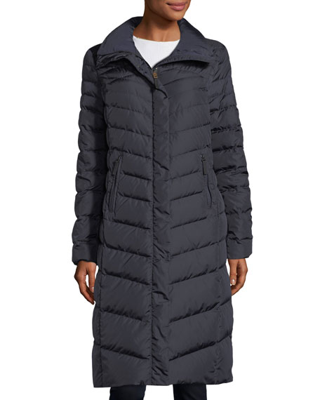 Bogner Fire + Ice Dunja Long Quilted Puffer