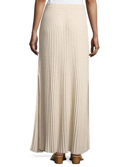 Joelle Rib-Knit Column Maxi Skirt