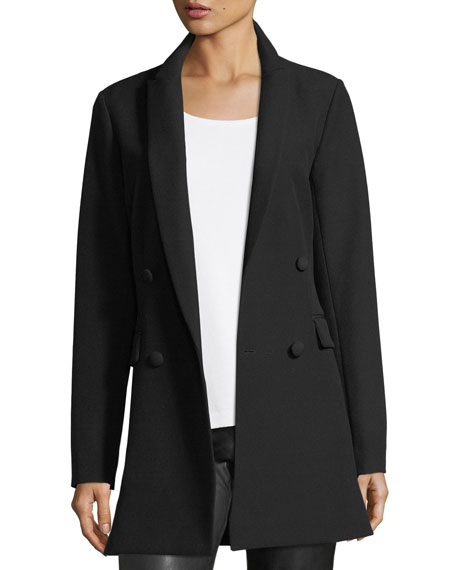 St. John Collection Bella Double-Weave Blazer