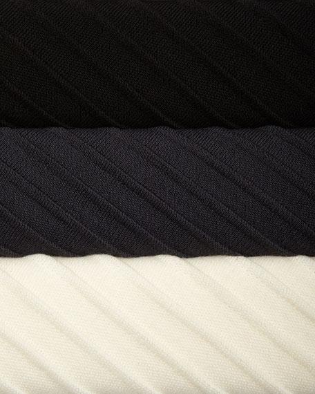 Ottoman Knit 3/4-Sleeve Tunic, Plus Size