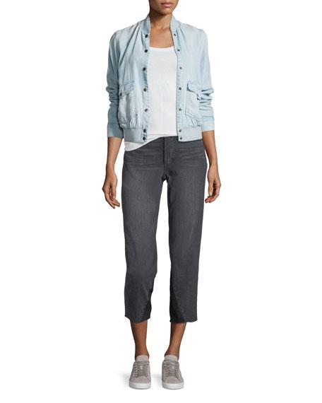 The Debbie Mid-Rise Crop Skinny Jeans