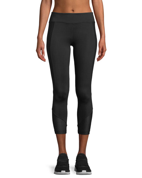 Koral Activewear Curve Crop Ankle-Length Performance Leggings