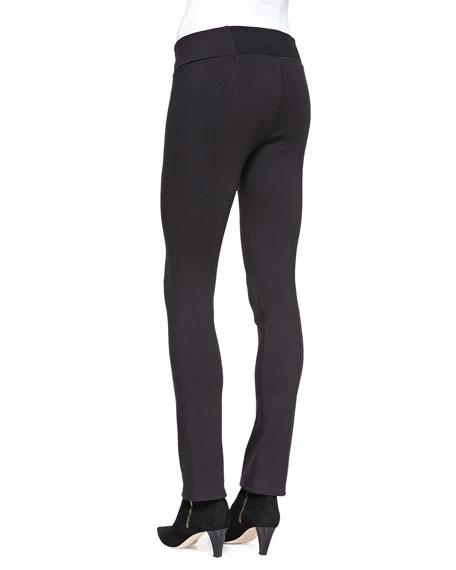 Heavyweight Rayon Knit Skinny Pants