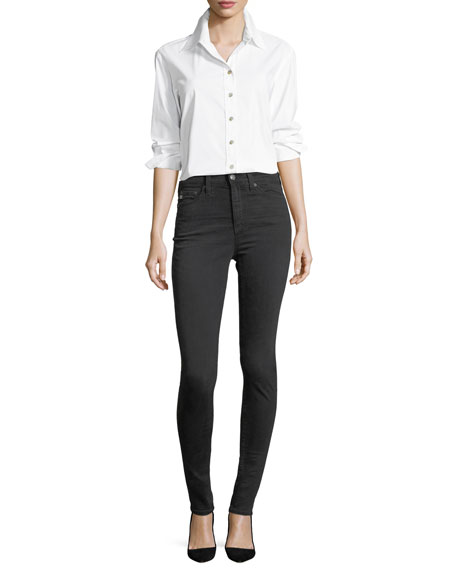 The Mila High-Waist Skinny Jeans