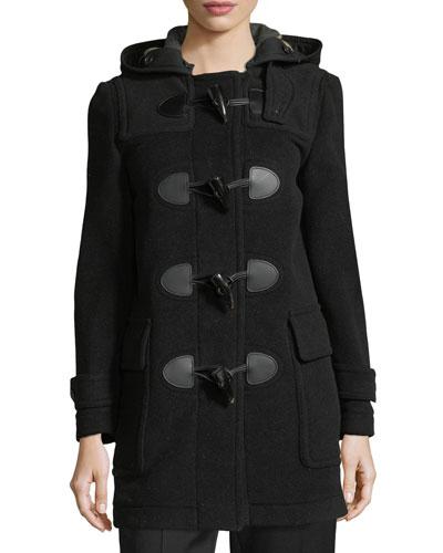 Mersey Wool-Blend Duffle Coat