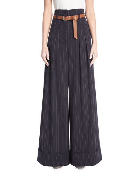 GREY Jason Wu X Diane Kruger Wide Pinstriped