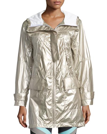 Misty Metallic Anorak Jacket