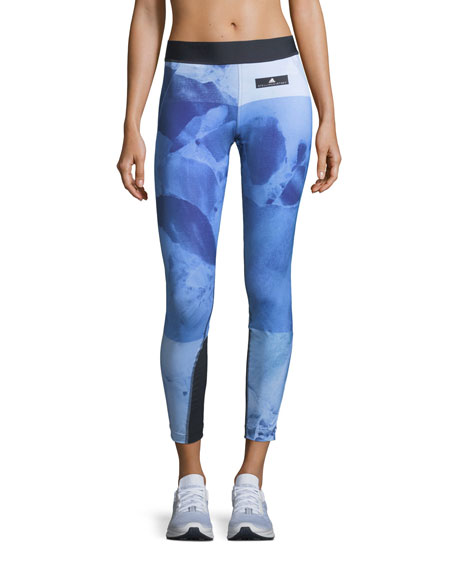 Run Stone Printed Performance Tights