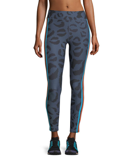 Tarzan Midi 7/8 Printed Performance Leggings