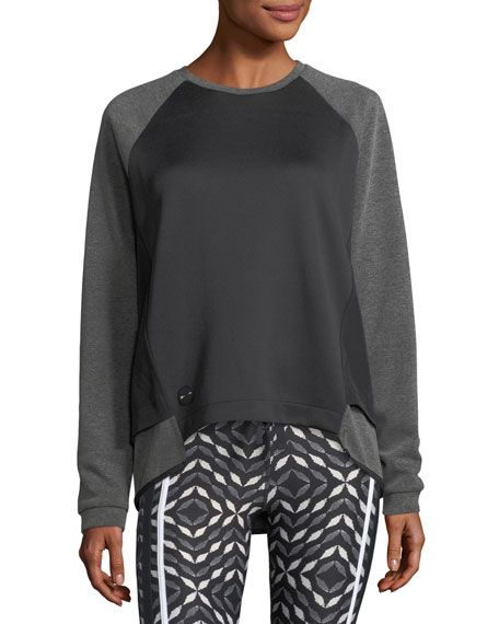 The Upside Sal Crewneck Long-Sleeve Lounge Sweater