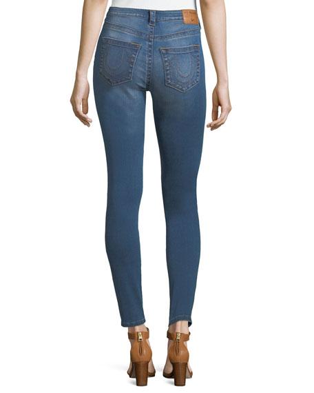 Jennie Curvy Mid-Rise Skinny-Leg Jeans