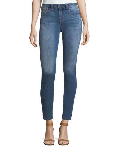 True Religion Jennie Curvy Mid-Rise Skinny-Leg Jeans