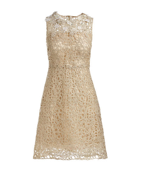 Ophelia Sleeveless Lace Dress