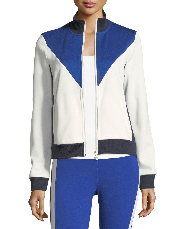 7e5bf16876f6 Tory Sport Chevron Track Jacket