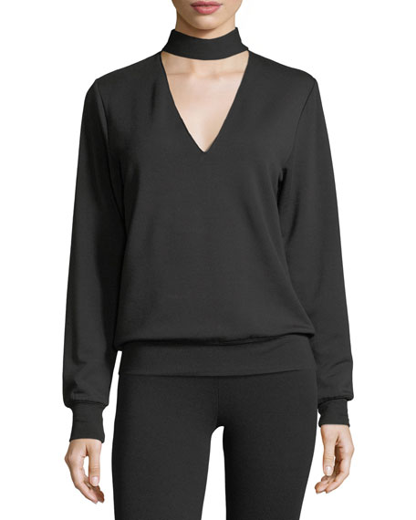 Eye Splice Long-Sleeve Sweatshirt