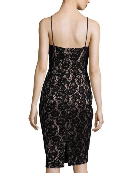 Montego Velvet Lace Sheath Dress