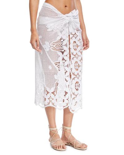 Layna Crochet Pareo Coverup