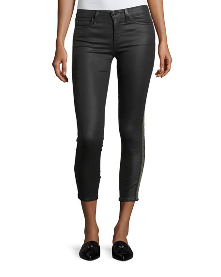 Joe's Jeans The Icon Ankle Coated Pants w/