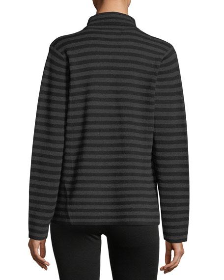 Merino Interlock Striped Blazer