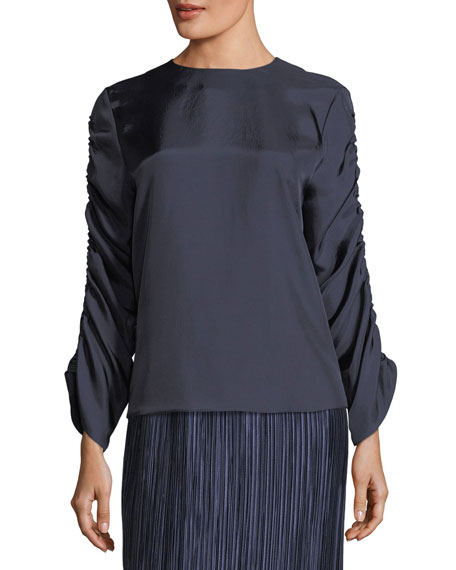 Tibi Plisse Pleated Midi Skirt and Matching Items