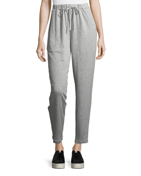 Eileen Fisher Terry Slouchy Ankle Pants
