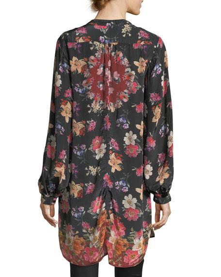 Alaya Floral-Print Tunic Dress