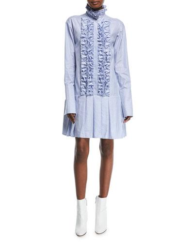 Live A Little Striped Cotton Dress