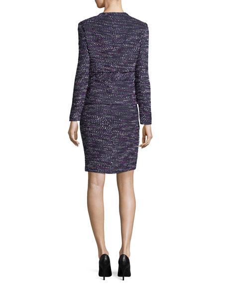 Four-Pocket Tweed Dress w/ Jacket
