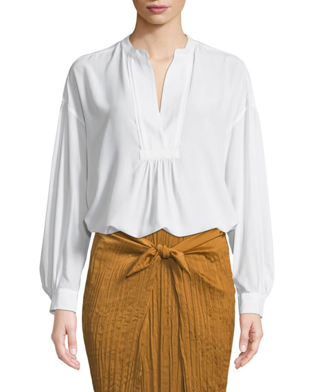 Vince Belted Crepe Culotte Pants and Matching Items