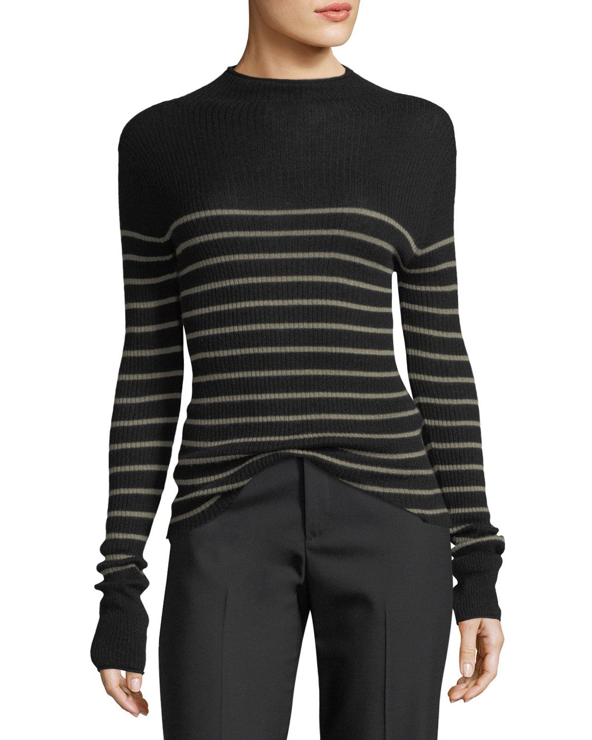 Sale Big Sale Clearance Best Place Mock-Neck Drawstring Pullover Sweater Vince Cheap For Nice Best Sale Cheap Price For Cheap Online PhgsJa