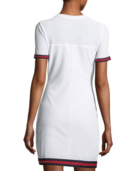 Italian Mesh T-Shirt Dress
