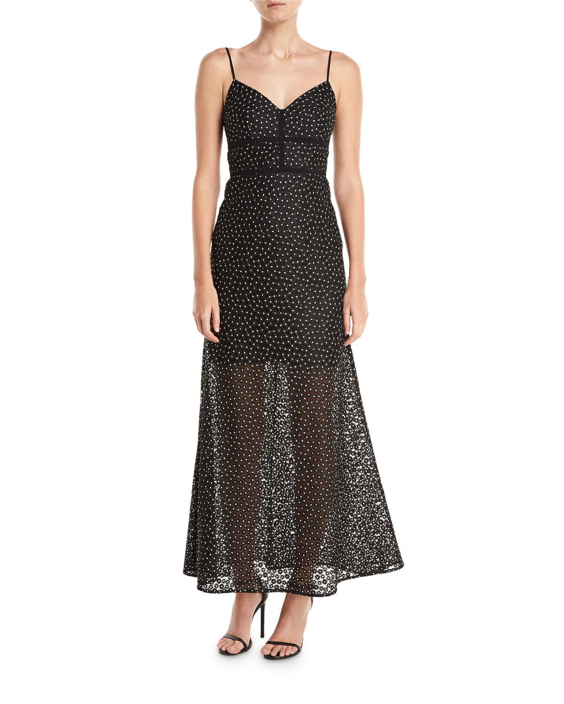 99d8983d5c Jill Jill Stuart Floral Lace Slip Evening Gown