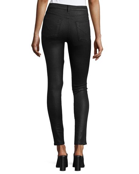 Hudson Bullocks Lace-Up High-Rise Super Skinny Pants