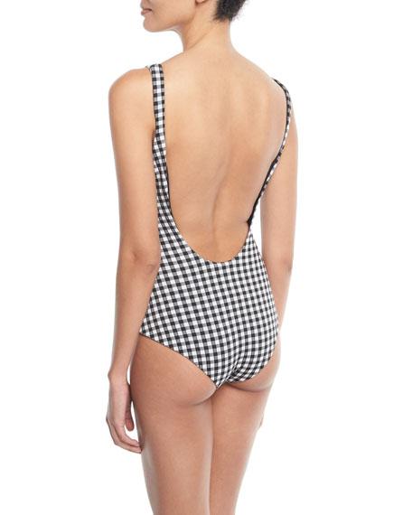 Maven Gingham One-Piece Swimsuit