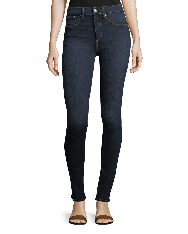 29c825adca7be Rag   Bone High Rise Skinny Jeans