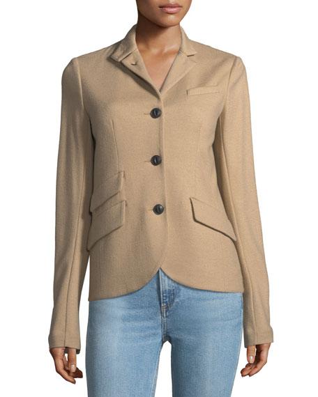 Rag & Bone Slade 4-Button Wool Tailored Blazer