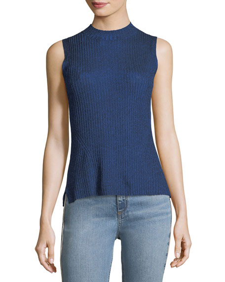 Rag & Bone Halsey Ribbed Sleeveless Tank