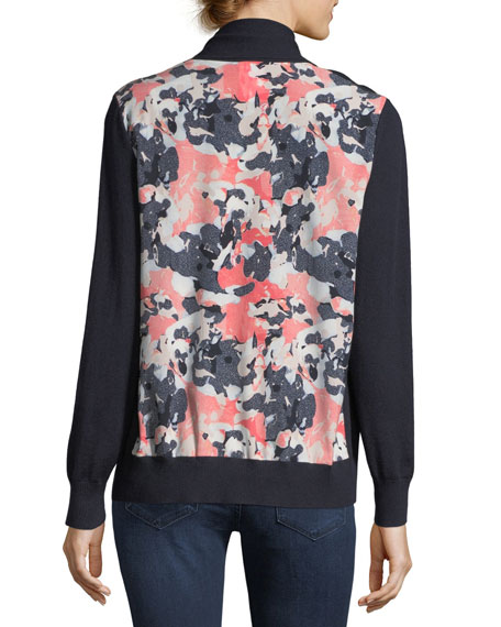 Neiman Marcus Cashmere Collection Cashmere Abstract-Back