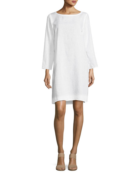 Eileen Fisher Organic Handkerchief Linen Tunic