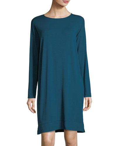 Lightweight Jersey Knee-Length Dress
