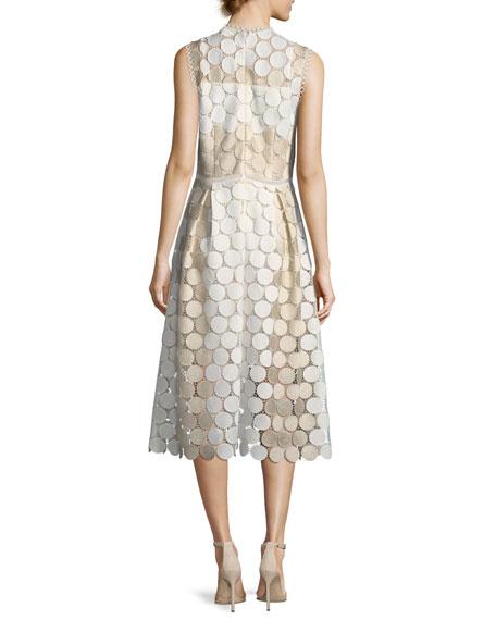 Glengarry Sleeveless Lace Cocktail Dress